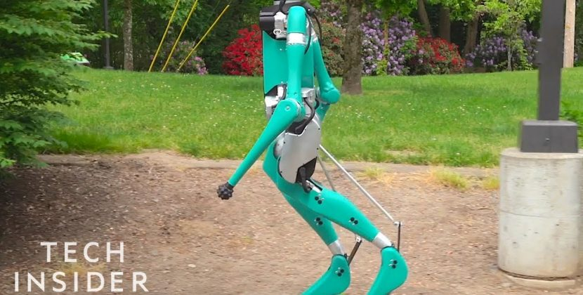 Ford's BiPedal Robot to Deliver Packages
