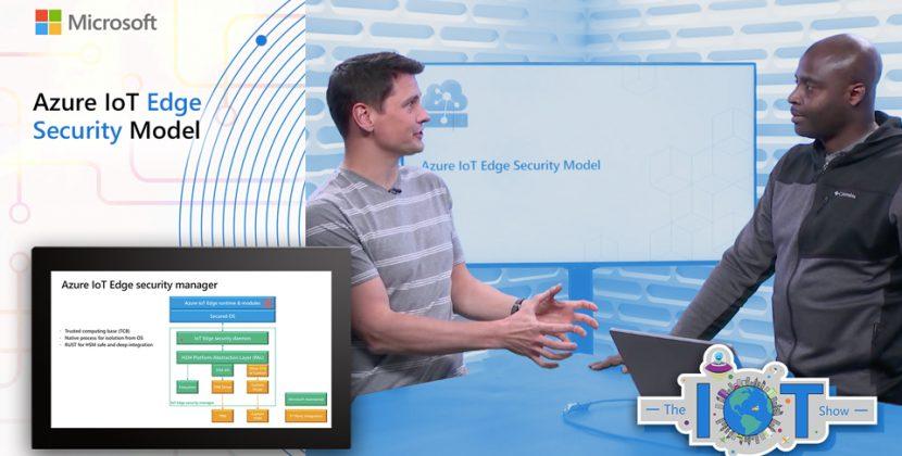 Azure IoT Edge Security Model