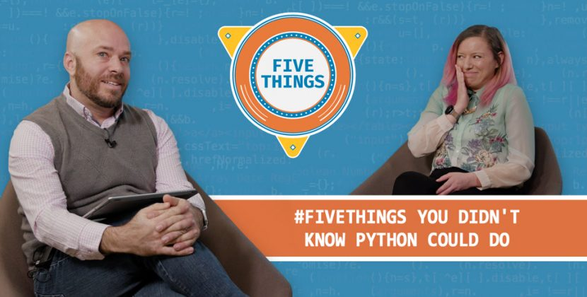 Five Things You Didn't Know Python Could Do