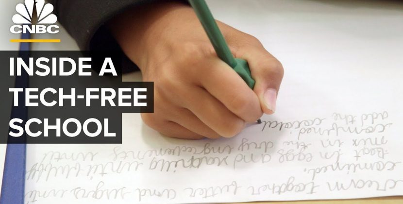 A Tech-Free School Where Tech Executives Send Their Kids