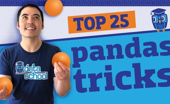 25 Python Pandas Tricks