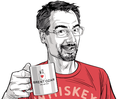 Brent Ozar on NoLock, Stoicism, and Playing Country Music Backwards