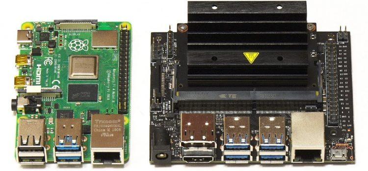 Raspberry Pi 4B vs Jetson Nano
