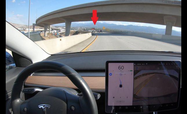 Tesla Autopilot Not Detecting Stopped Traffic on Highway