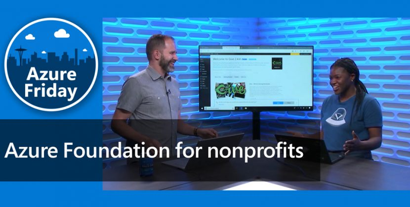 Azure Foundation for Non-Profits