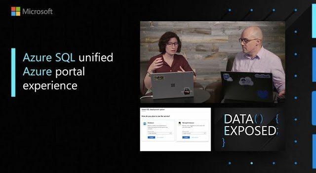 Azure SQL Unified Azure Portal Experience