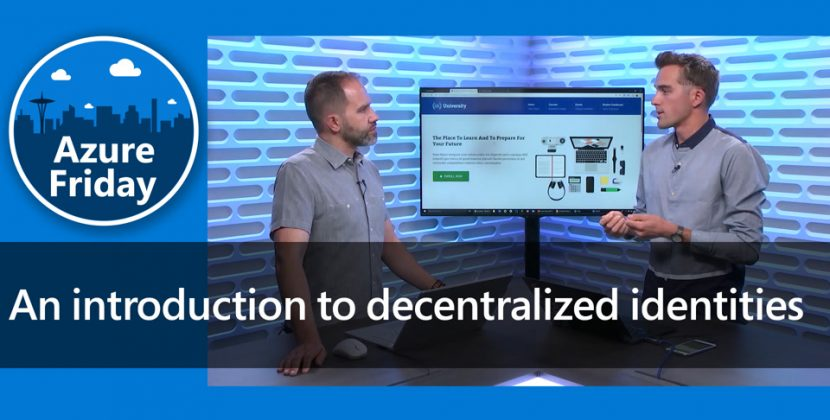 Introduction to Decentralized Identities
