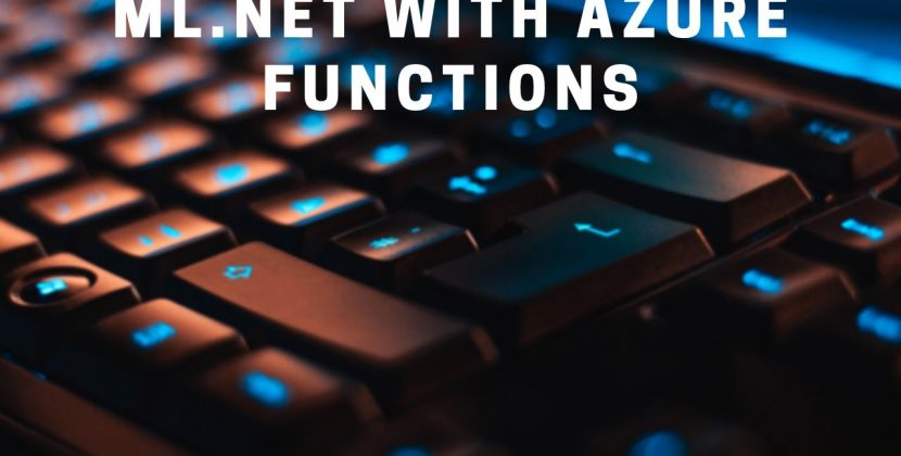 Using ML.NET in an Azure Function for Predictions