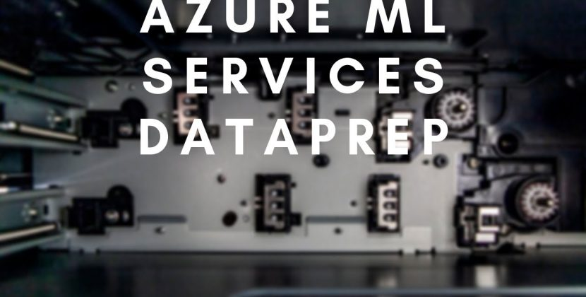 Preparing Datasets with the Azure ML Service
