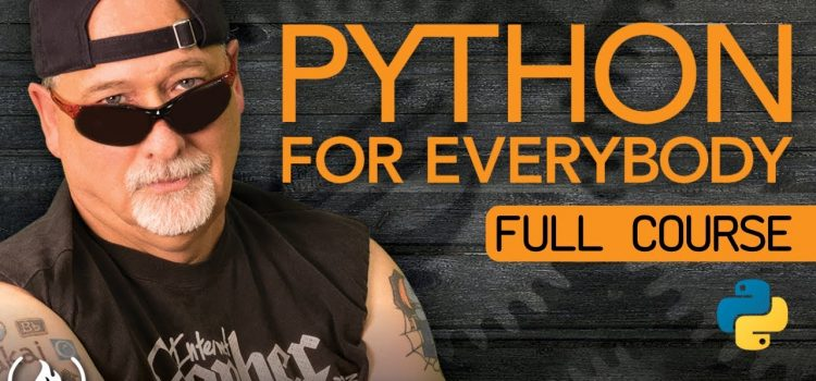 Python for Everybody: a Full Course
