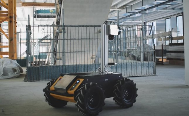 Digital Transformation of Construction Sites with Robotics