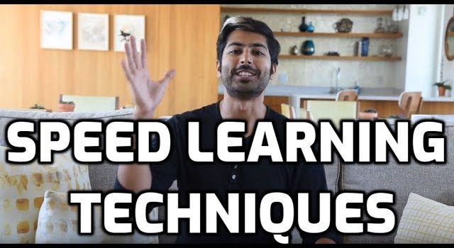 10 Speed Learning Techniques