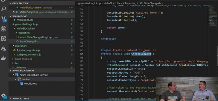 Use Logic Apps and Flows to Publish Smart Contract Events to Streaming Data Sets in Power BI