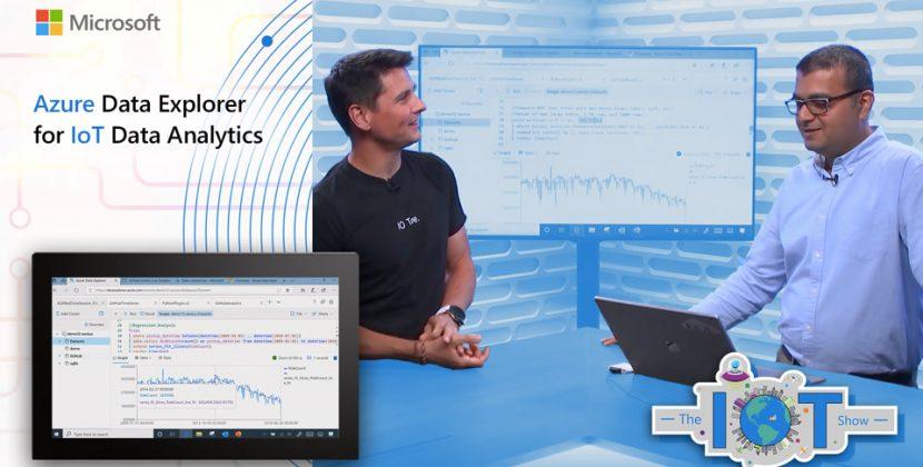 Azure Data Explorer for IoT Data Analytics