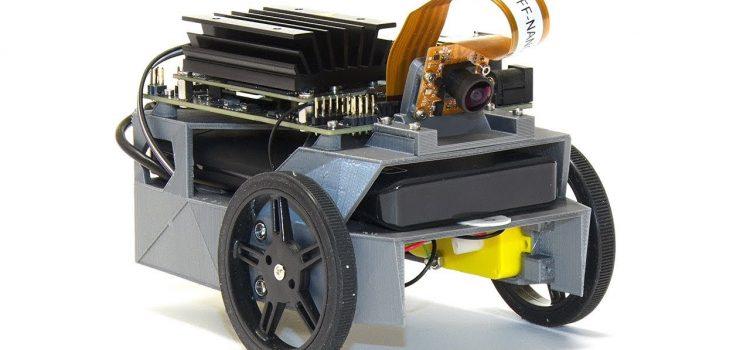 JetBot: Jetson Nano Vision-Controlled AI Robot