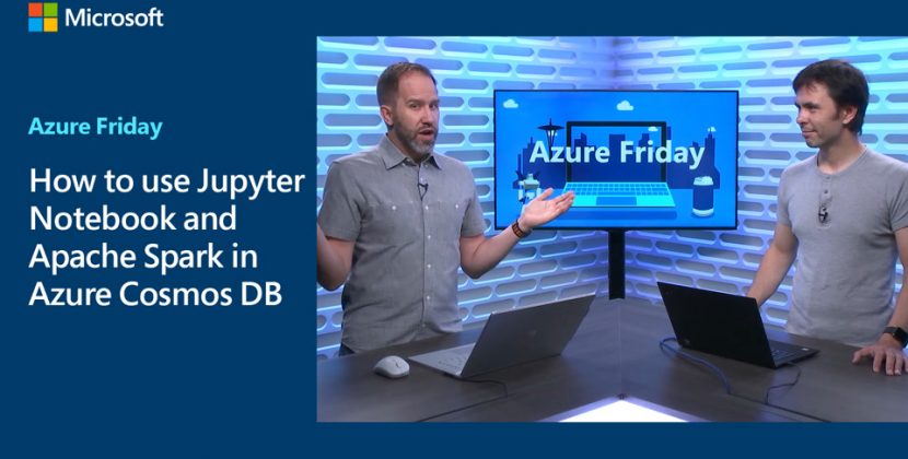 Using Jupyter Notebook and Apache Spark in Azure Cosmos DB