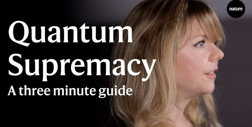 3 Minute guide to Quantum Supremacy