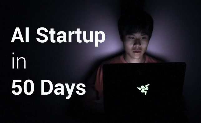50 Days of Building an AI Startup in 5 Minutes