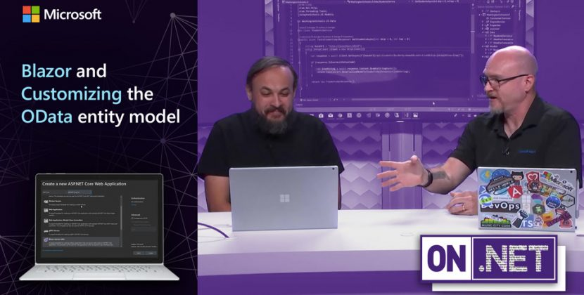 Blazor and Customizing the OData entity model