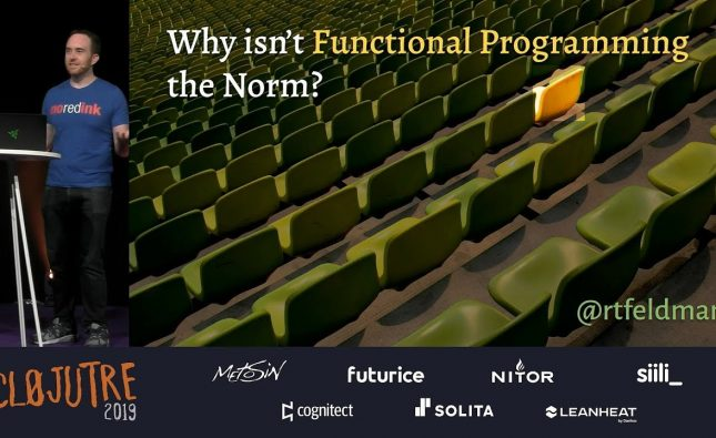 Why Isn't Functional Programming the Norm?