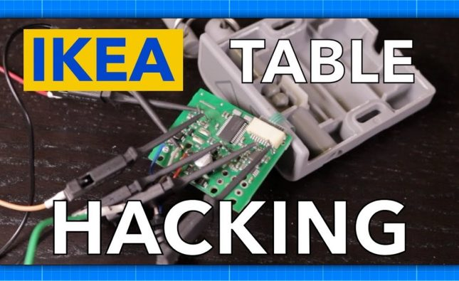 IKEA Bekant Table Hacking