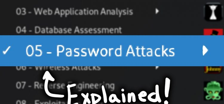 Kali Password Attacks Explained