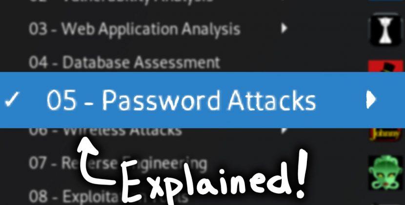Kali Password Attacks Explained