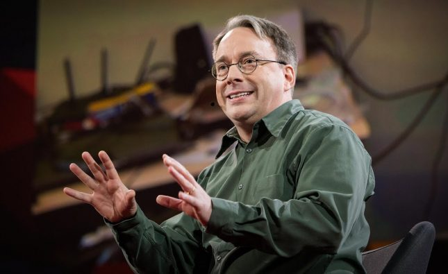 Linus Torvalds's TED Talk