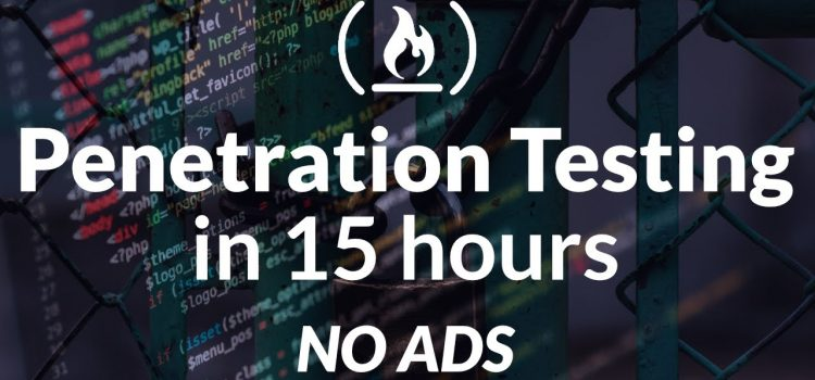 Free 14 Hour Ethical Hacking Course Network Penetration Testing for Beginners