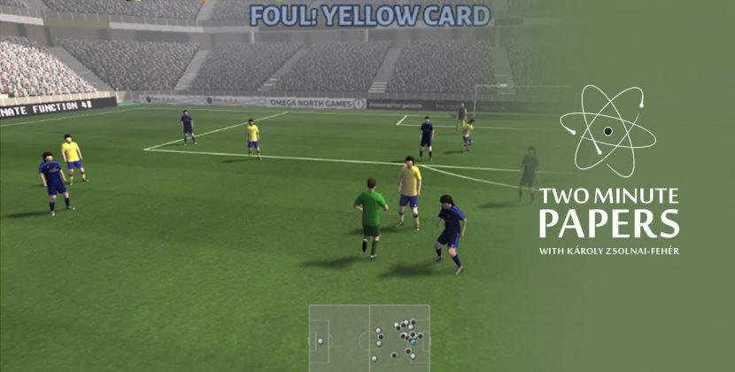 Google's AI Plays Soccer