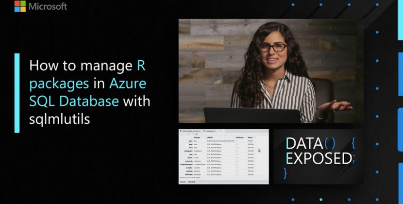 How to manage R packages in Azure SQL Database with sqlmlutils
