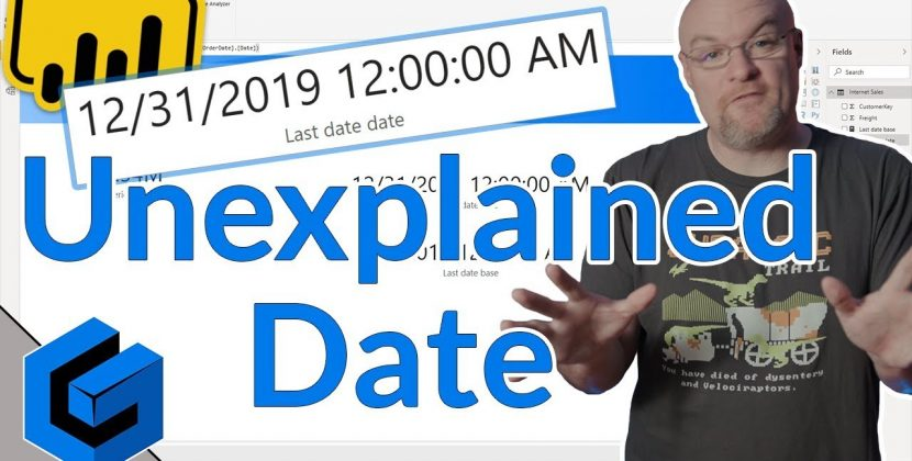 Case of the Unexplained Date in PowerBI