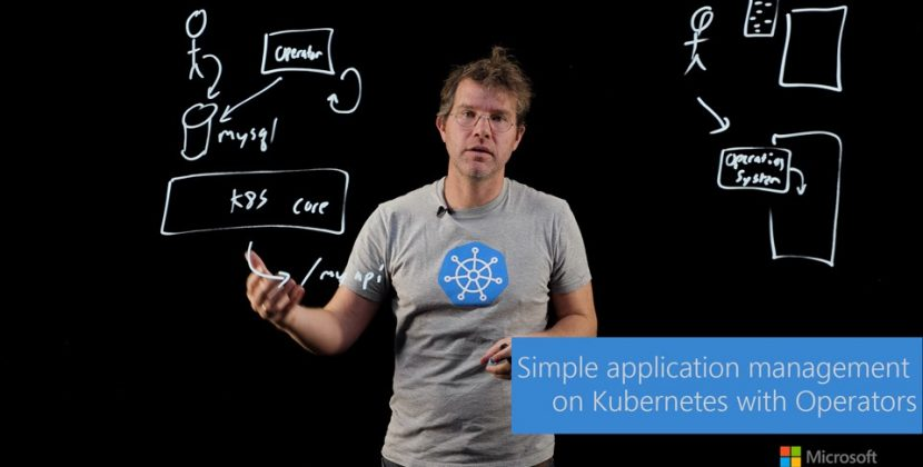 Simple Application Management on Kubernetes with Operators