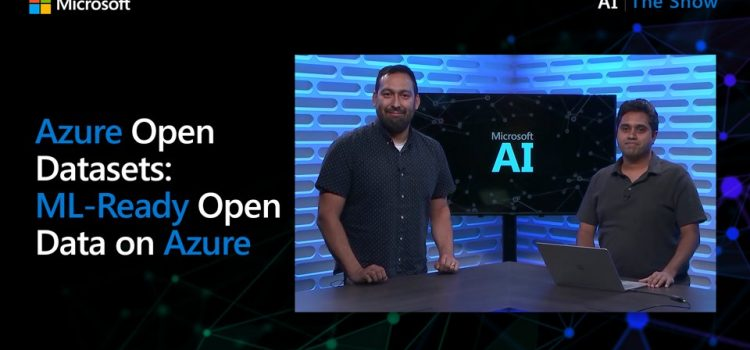 Azure Open Datasets: ML-Ready Open Data on Azure