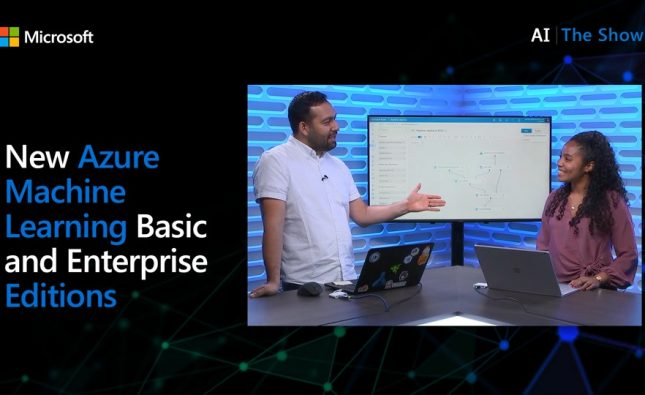 New Azure Machine Learning Basic and Enterprise Editions