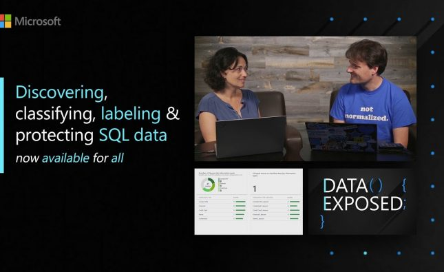 Discovering, Classifying, Labeling & Protecting SQL Data