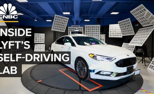 Inside Lyft's Self-Driving Car Lab