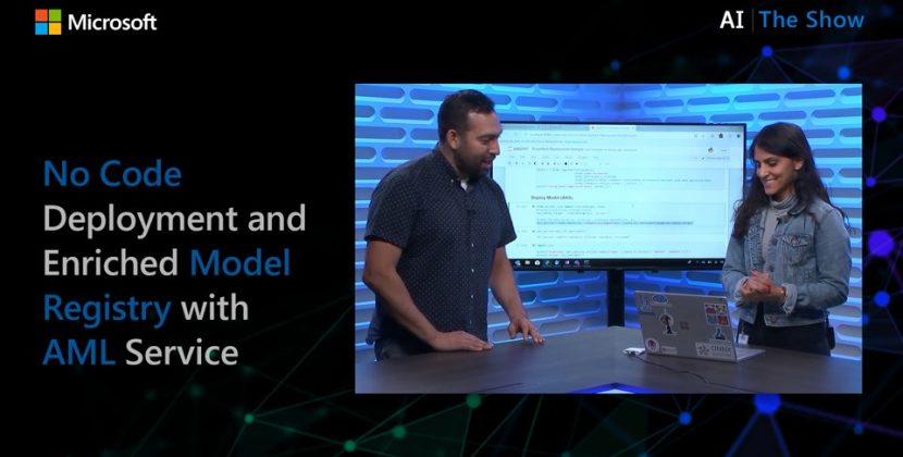 No Code Deployment and Enriched Model Registry with AML Service