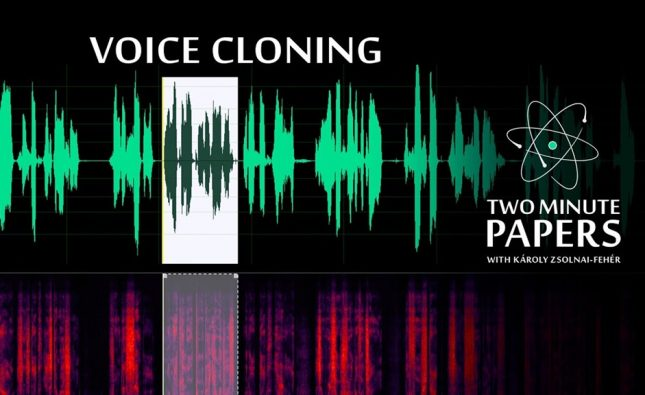 AI Can Clone Your Voice After Listening for 5 Seconds