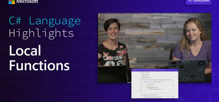 Local Functions in C#