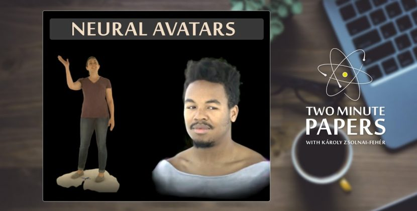 An AI That Creates A Moving Digital Avatar Of You