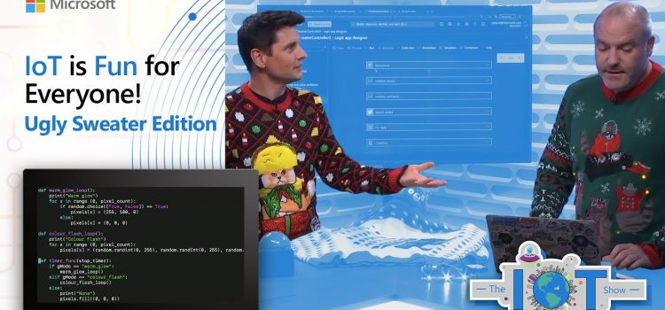 Ugly Sweaters and Why IoT is Fun for Everyone!