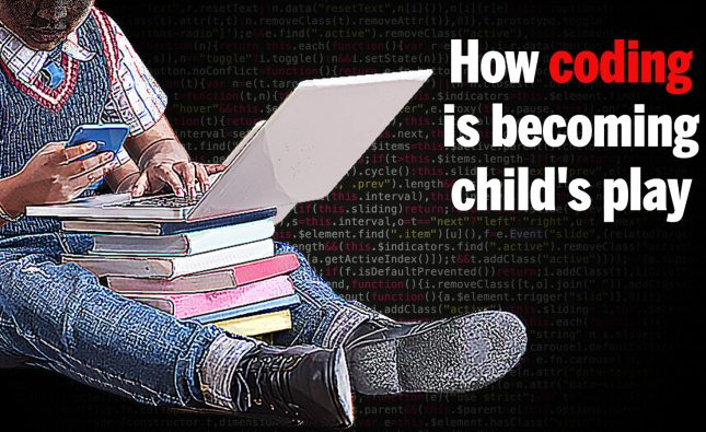 How coding is becoming child's play - Times of India