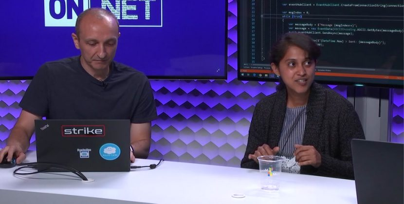 Messaging with Azure Event Hubs