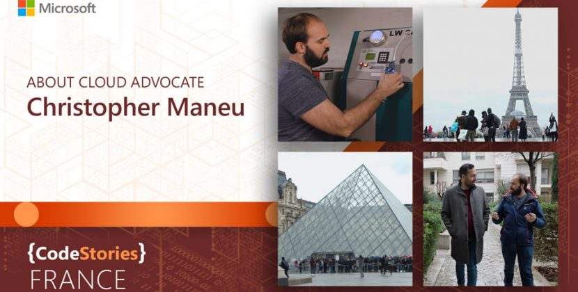Microsoft France: Christopher Maneu Talks IoT and Cloud