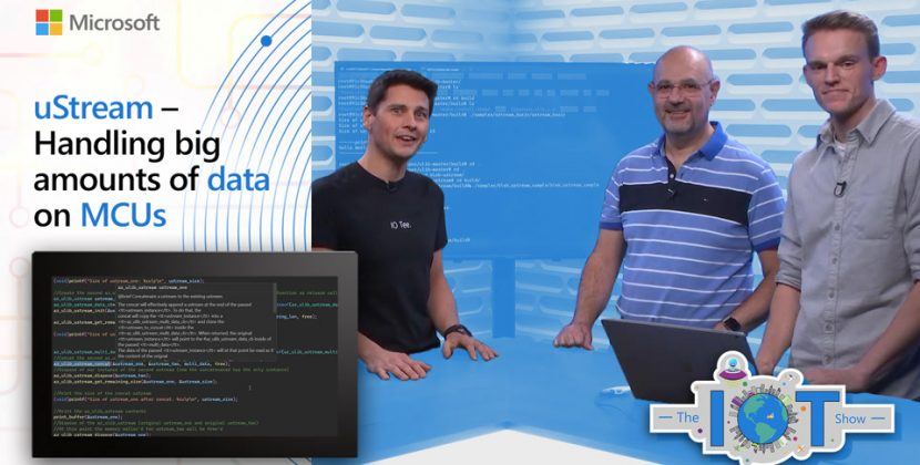 uStream – Handling big amounts of data on MCUs