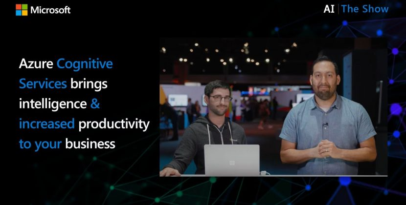 Azure Cognitive Services Brings Intelligence & Increased Productivity to Business Processes