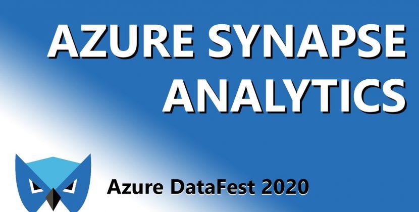 Azure Synapse Analytics: Next Gen Data Warehousing