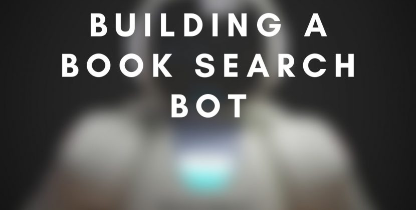 Building a Book Search Bot with the Microsoft Bot Framework