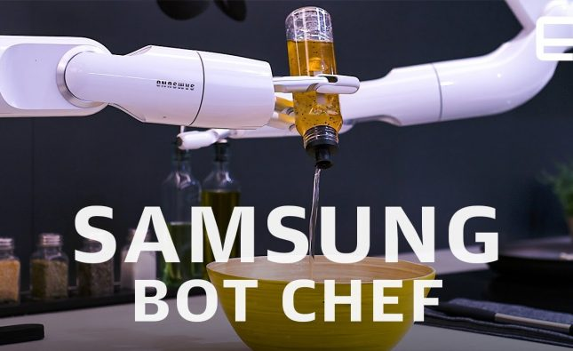 Samsung Bot Chef First Look at CES 2020